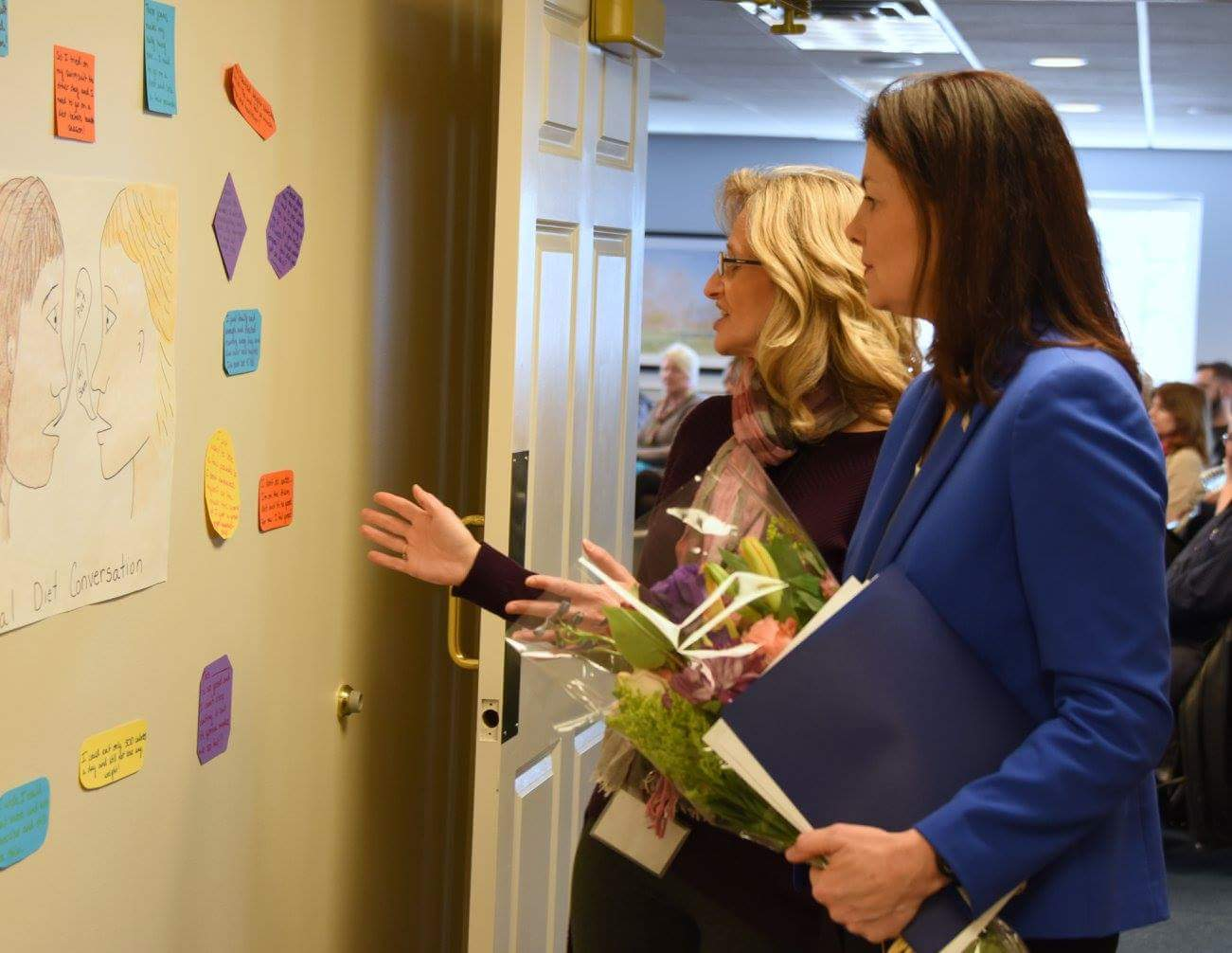 Sen. Ayotte at Cambridge Eating Disorder Center